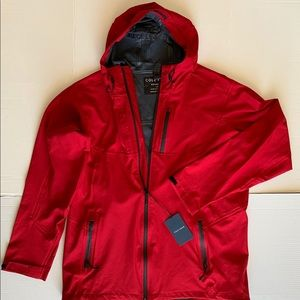 Cole Haan Water Resistant Jacket Red/L